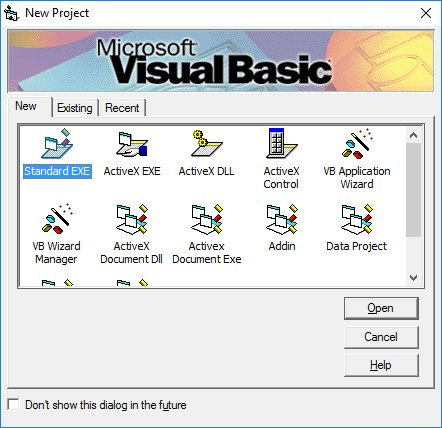 teknologi bahasa program visual basic